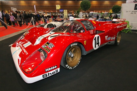 LYON, FRANCE, November 6 -  Motor show Stock Photo - 11147475