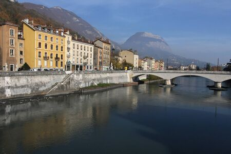 River banks in Grenoble
