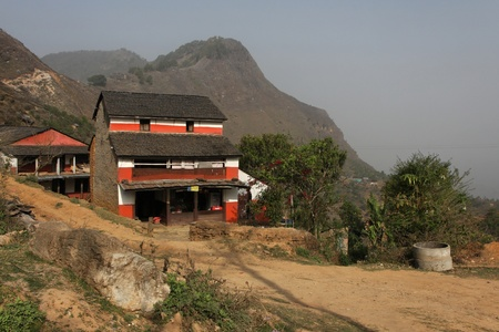 Farm in Bandipur, Nepal