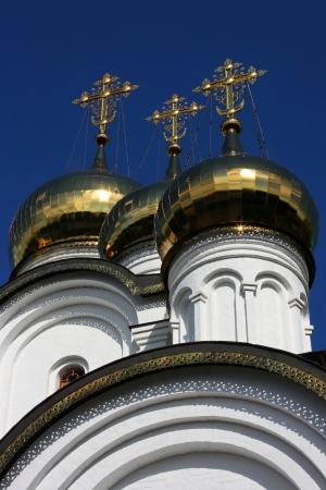 ortodox: Nikolsky Convent Dome and Crosses