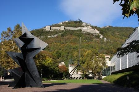 Grenoble museum and Bastille Redakční
