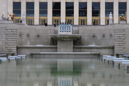 symetry: Trocadero pools
