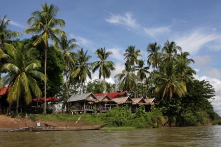 det: Village of Det island, Si Phan Don Stock Photo