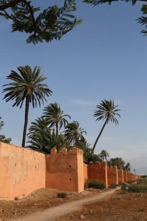 ramparts: Ramparts of Marrakesh