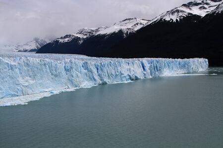 los glaciares: The Perito Moreno Glacier in the Los Glaciares National Park Stock Photo