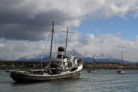 Tugboat: Tugboat in Ushuaia