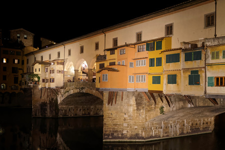 ponte vecchio: Ponte Vecchio by night