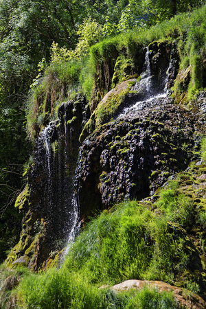 Waterfalls in Baume-Les-Messieurs valley