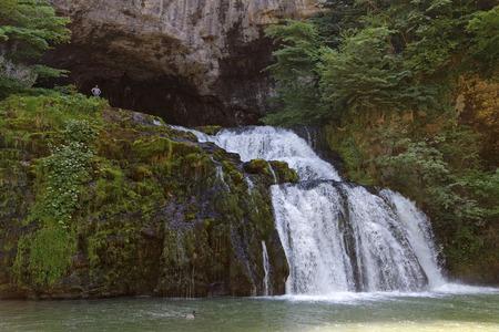 Lison river source (Source du Lison). It is certainly a resurgence