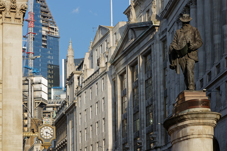 Cornhill is a ward and street in the City of London, the historic nucleus and financial centre of modern London.