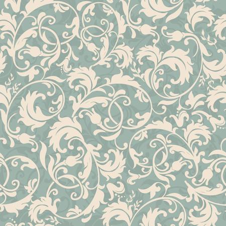 Decoratief naadloos victorian behang. Stockfoto - 75389984