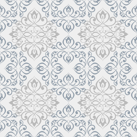 Oriental vector classic ornament. Seamless abstract background with repeating elements