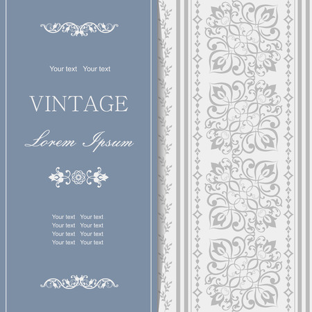 royal wedding: Invitation cards in an vintage-style