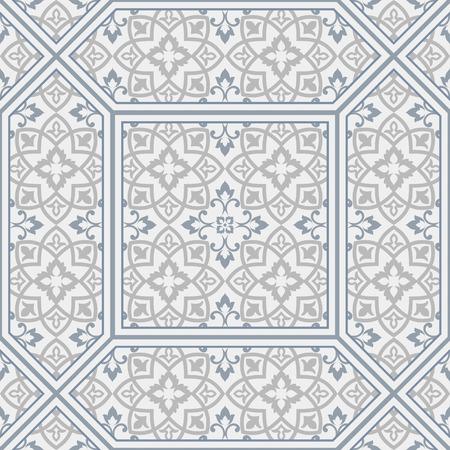 Moroccan background. Arabic tile. Islamic Art. 向量圖像