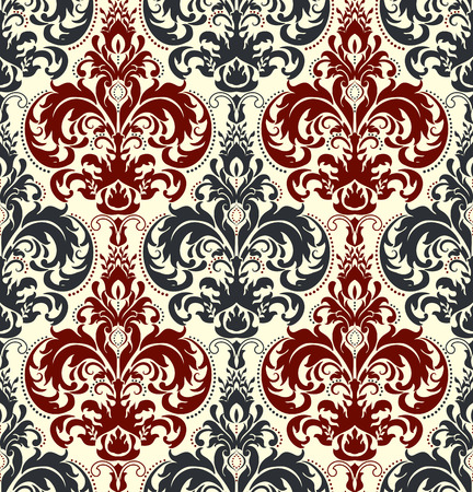 Seamless background in the style of Damascus. Vintage ornament. Use for wallpaper, printing on the packaging paper, textiles, ceramic tile. Reklamní fotografie - 83684928