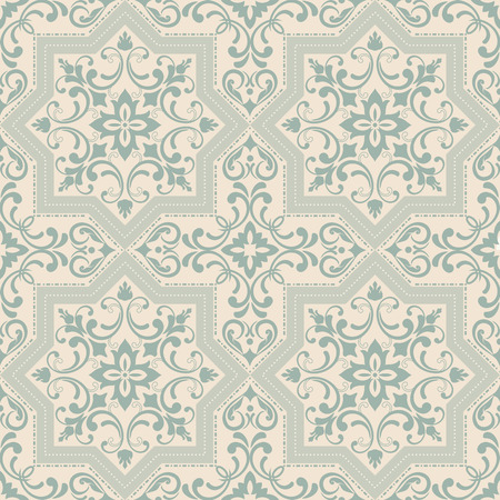 Seamless background in the style of Damascus. Vintage ornament. Use for wallpaper, printing on the packaging paper, textiles, ceramic tile.