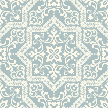 Seamless background in the style of Damascus. Vintage ornament. Use for wallpaper, printing on the packaging paper, textiles, ceramic tile. Reklamní fotografie - 83011519