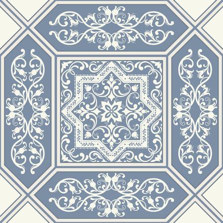 Vector bloemenpatroon als achtergrond