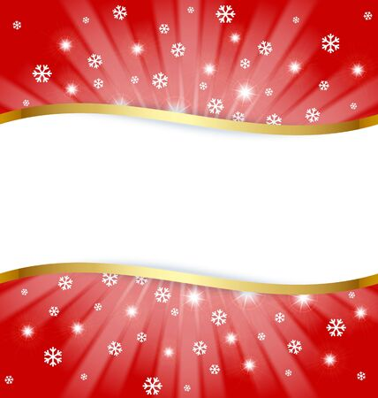 Christmas document template with copy space for your custom text Stock Vector - 11294461