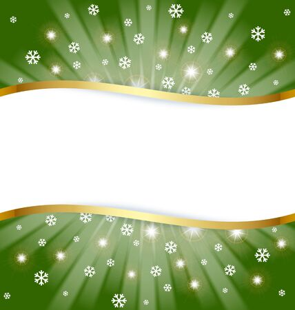 Christmas document template with copy space for your custom text Stock Vector - 11294462