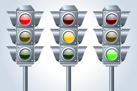traffic lights: Semaphore traffic lights