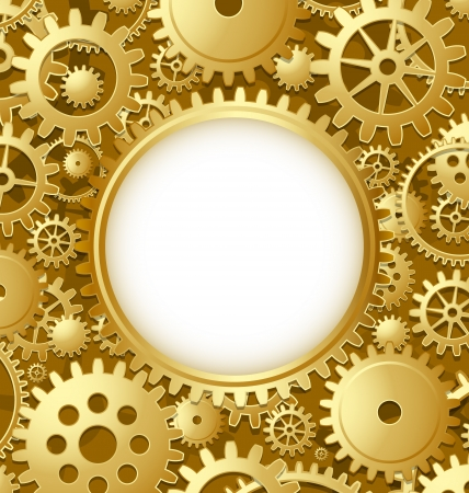 cog gear: Cogwheel gear document template with copy space for your custom text