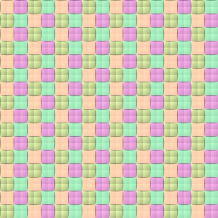 Three dimensional colorful seamless pattern in pastel style Stock Vector - 21997163