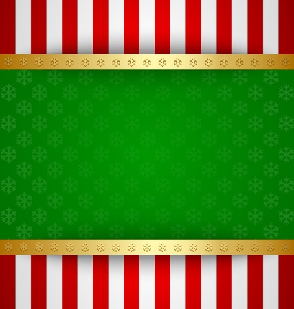 Simple Christmas card template or document background Vector