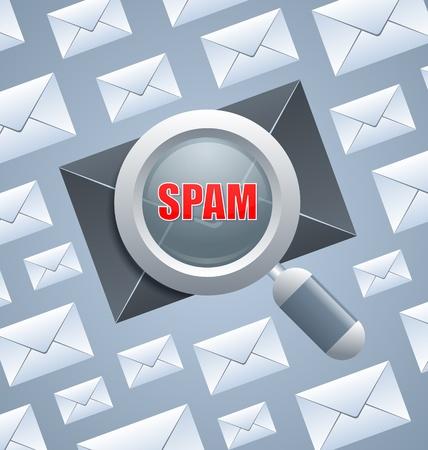 Schadeveroorzakende spambericht identificatie onder normale e-mails