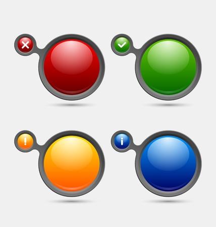 알림: 알림 사용자 지정 웹 디자인 및 컴퓨터 목적에 적합한 거품