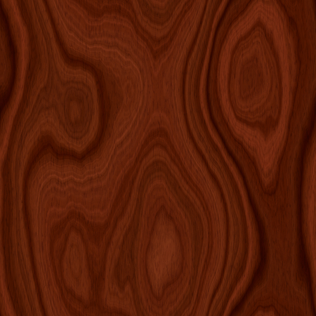 endless repeat structure: Seamless dark brown mahogany wood texture illustration