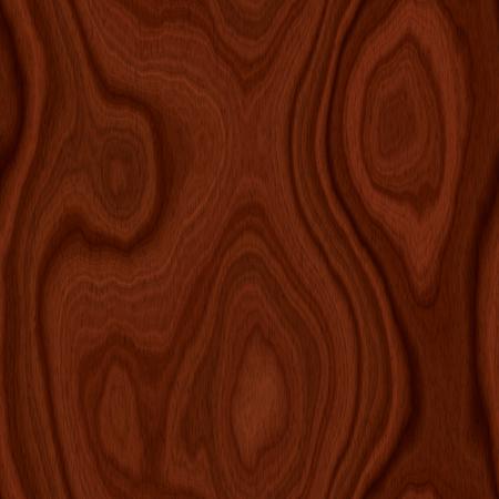 Seamless Dark Brown Mahogany Wood Texture Illustration Stock Photo