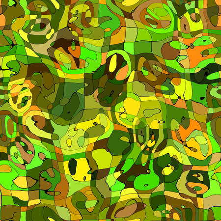 ameba: Camouflage seamless mosaic tile texture in abstract style