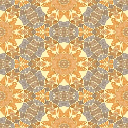 paving stone: Ancient seamless mosaic tile texture in Tuscany style