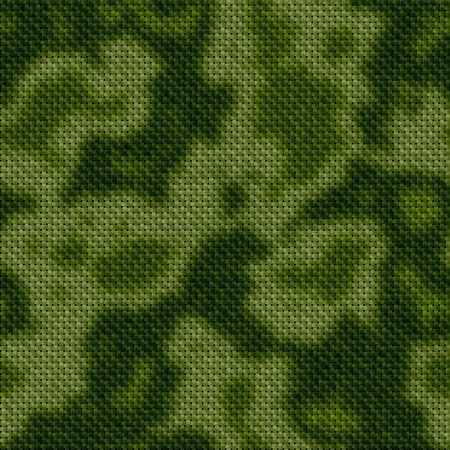 ameba: Camouflage seamless tile texture in abstract style Stock Photo
