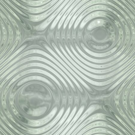 ameba: Ripple glass seamless pattern in abstract style Stock Photo