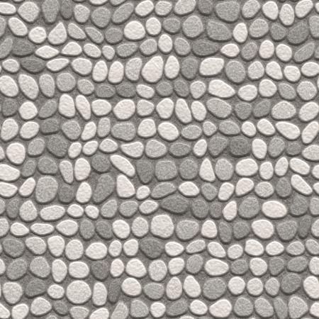 Seamless stone pavement texture in abstract style