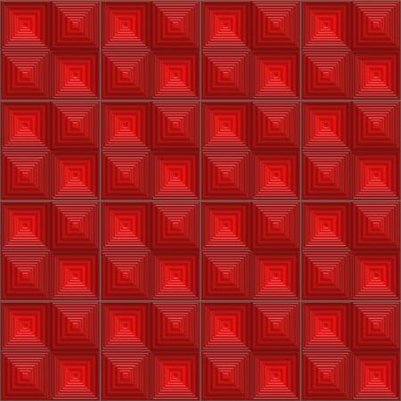 geometric style: Seamless futuristic mosaic tile texture in geometric style
