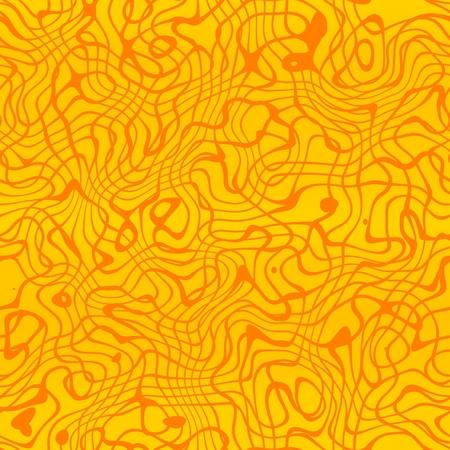 ameba: Art Deco seamless texture in wavy abstract style
