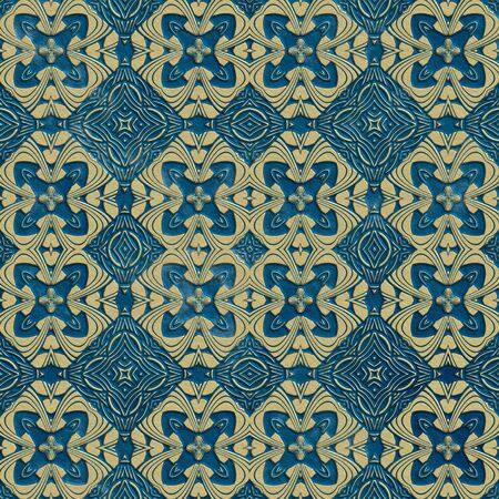 old fashioned: Ancient seamless mosaic tile texture in old fashioned style