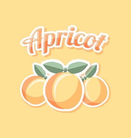 white stone: Retro apricot with title on pale orange background