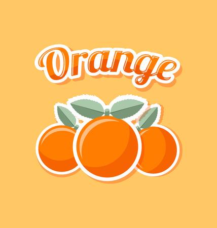 rinds: Retro orange with title on pale orange background