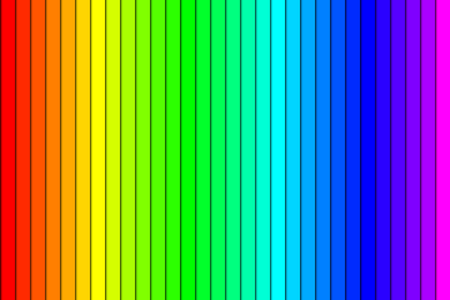 spectral colour: Colorful gradient background made of rainbow spectral colors Illustration