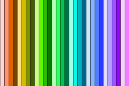 spectral colour: Colorful gradient made of rainbow spectral colors