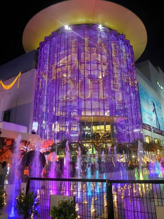 BANGKOK - JANUARY 03: Siam paragon shopping center with Christmas and Happy new year 2015 festival on January 03, 2015 in Bangkok,Thailand