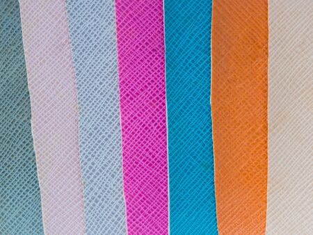 color swatch: Close up leather color swatch with embossed pattern