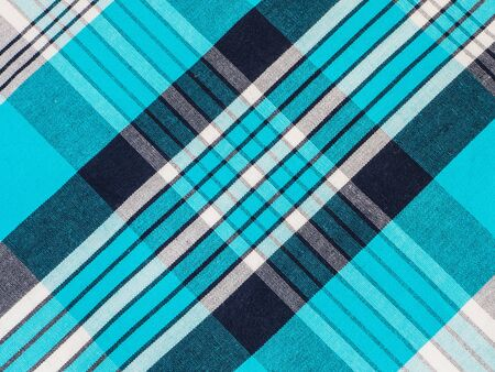 tartan plaid: Tartan plaid cotton fabric.Tiles texture for the background