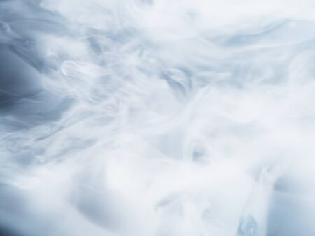 White fluffy smoke or haze abstract background.
