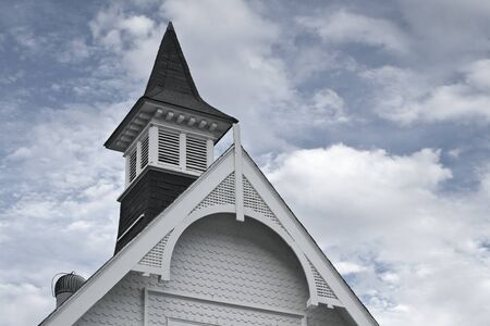Historic New England chapel completed in 1897. Location: Branford, Connecticut.