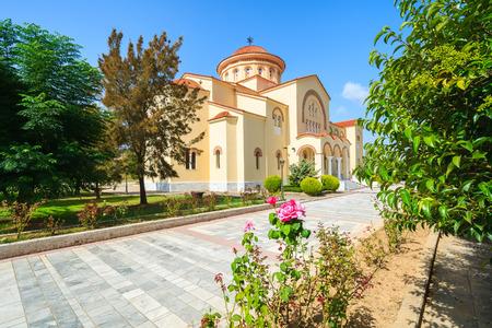 Monastery of Agios Gerasimos on Kefalonia island, Greece